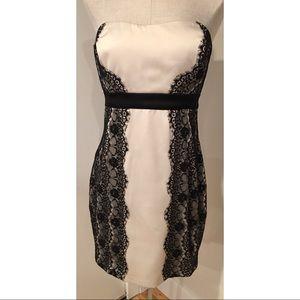 NWT Max & Cleo Black Eyelash Lace Party Dress